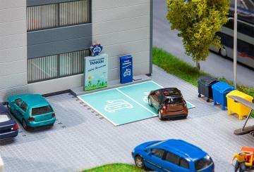 Ladestation für E-Fahrzeuge · FAL 180280 ·  Faller · H0