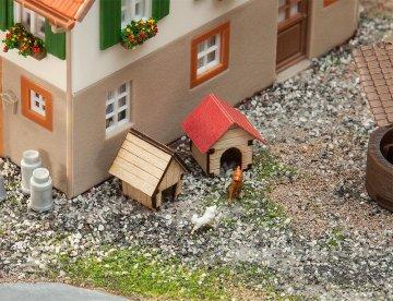Hundehütten                   · FAL 180309 ·  Faller · H0