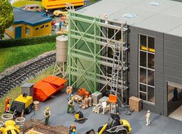 Baustellenausstattungs-Set · FAL 180345 ·  Faller · H0