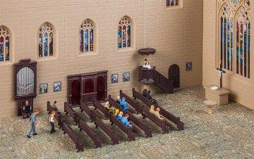Kirchenausstattungs-Set · FAL 180346 ·  Faller · H0