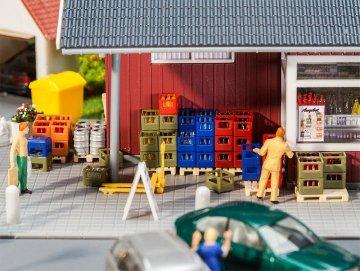 Getränkehandel-Inneneinrichtung · FAL 180353 ·  Faller · H0
