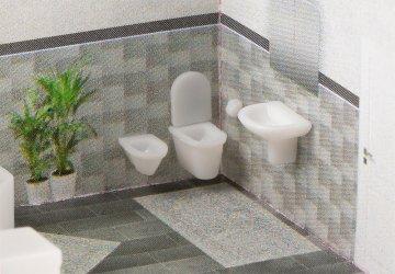 Badezimmereinrichtungen       · FAL 180355 ·  Faller · H0