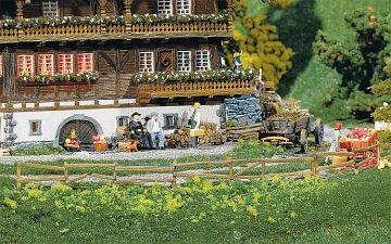 4 Garten- und Feldzäune, 2360 mm · FAL 180406 ·  Faller · H0