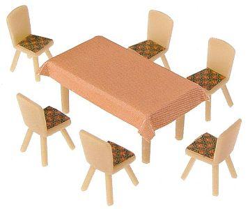 4 Tische und 24 Stühle · FAL 180442 ·  Faller · H0