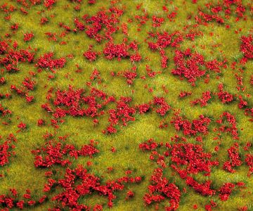 PREMIUM Landschafts-Segment, Blumenwiese, rot · FAL 180460 ·  Faller · H0