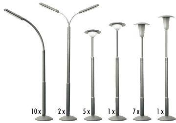 Straßenlampen-Set · FAL 180538 ·  Faller · H0