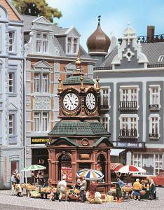 Uhrenkiosk · FAL 180583 ·  Faller · H0