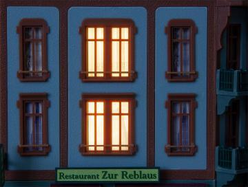 LED-Gebäudebeleuchtung mit Steuerung · FAL 180678 ·  Faller