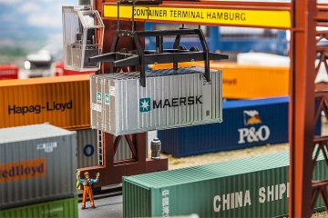 20´ Container MAERSK · FAL 180820 ·  Faller · H0