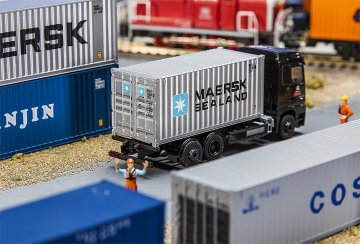 20´ Container MAERSK SEALAND · FAL 180823 ·  Faller · H0