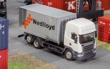 20´ Container Nedlloyd · FAL 180827 ·  Faller · H0