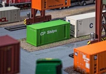 20´ Container CP Ships · FAL 180830 ·  Faller · H0