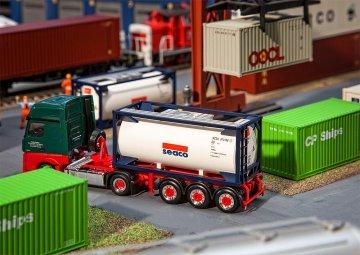 20´ Tankcontainer SEACO · FAL 180832 ·  Faller · H0