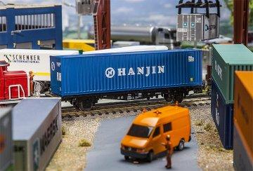 40´ Hi-Cube Container HANJIN · FAL 180842 ·  Faller · H0