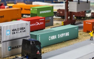 40´ Container CHINA SHIPPING · FAL 180844 ·  Faller · H0