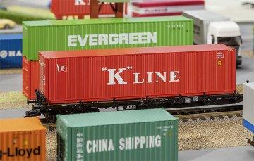 40´ Hi-Cube Container K-LINE · FAL 180848 ·  Faller · H0