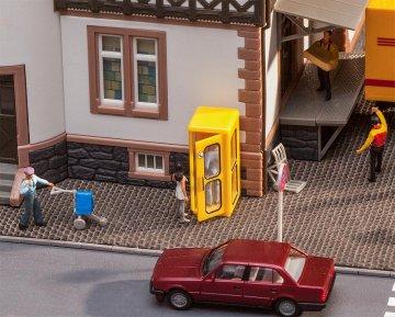Telefonzelle Bundespost · FAL 180955 ·  Faller · H0