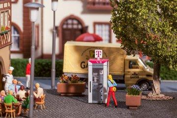 Telefonzelle Telekom · FAL 180956 ·  Faller · H0