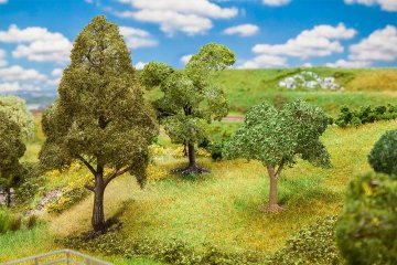3 PREMIUM Bäume, sortiert · FAL 181170 ·  Faller · H0
