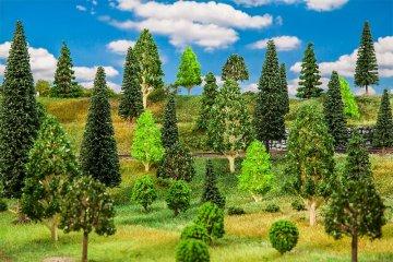 50 Mischwaldbäume, sortiert · FAL 181536 ·  Faller · H0