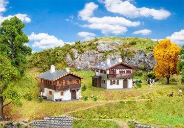 Aktions-Set Alpenhäuser       · FAL 190162 ·  Faller · H0