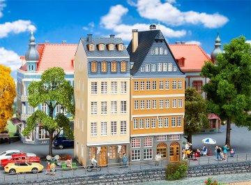 Aktions-Set - Stadthäuser am Donauufer · FAL 190163 ·  Faller · H0