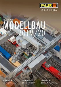 Faller Katalog 2019/2020 · FAL 190908D ·  Faller