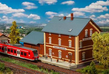 Bahnhof Gera Liebschwitz · FAL 191759 ·  Faller · H0