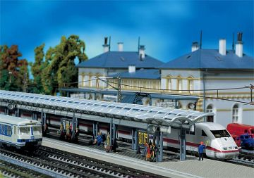 2 ICE-Bahnsteige · FAL 222121 ·  Faller · N