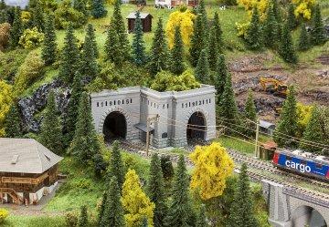 Tunnelportale Simplon Nord und Süd · FAL 222500 ·  Faller · N