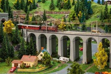 Viadukt-Set, 2-gleisig, gerade · FAL 222599 ·  Faller · N