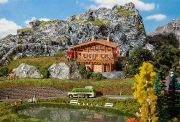 Hochgebirgshütte Moser-Hütte · FAL 232356 ·  Faller · N