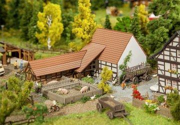 Landwirtschaftliches Gebäude · FAL 232371 ·  Faller · N