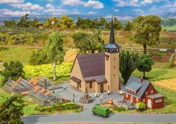 Aktions-Set Dorf · FAL 239004 ·  Faller · N