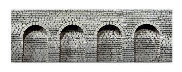 Dekorplatte Arkaden, Naturstein-Quader · FAL 272600 ·  Faller · N