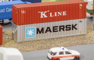 40´ Hi-Cube Container MAERSK · FAL 272821 ·  Faller · N