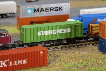 40´ Hi-Cube Container EVERGREEN · FAL 272843 ·  Faller · N