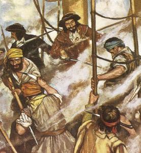 Piraten, 16 Figuren · GLE 2204 ·  Glencoe Models · 1:32