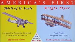 Spirit of St. Louis - Wright Flyer · GLE 3102 ·  Glencoe Models · 1:100