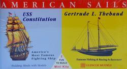 Segelschiffe Constituion 1/400 - Gertrude L. Thebaud 1/250 · GLE 3303 ·  Glencoe Models