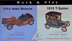 Stutz Bearcat 1/56 - T-Sedan 1/59 · GLE 3607 ·  Glencoe Models
