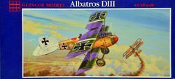Albatros DIII · GLE 5101 ·  Glencoe Models · 1:48