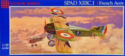 SPAD XIIIC.1 · GLE 5117 ·  Glencoe Models · 1:48