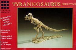 Tyrannosaurus Skelett · GLE 7906 ·  Glencoe Models · 1:25