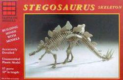 Stegosaurus Skelett · GLE 7907 ·  Glencoe Models · 1:25