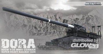 Dora Railway Gun Limited Edition! · G2B 8109999 ·  Glow2B · 1:35