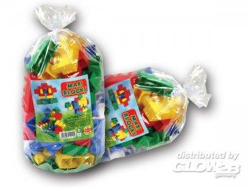 Maxi Blocks im Sack 55St. 21x21x35 cm · G2B 0124 ·  Glow2B Spielwaren