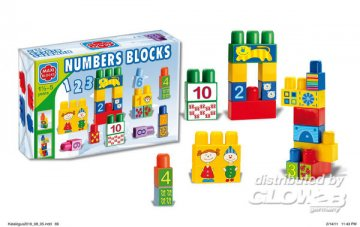 Maxi Blocks Lernen 34St. 32x22x11 cm · G2B 0129 ·  Glow2B Spielwaren