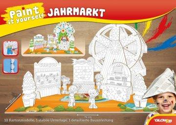 Paint it yourself - Jahrmarkt · G2B 54007 ·  Glow2B Spielwaren