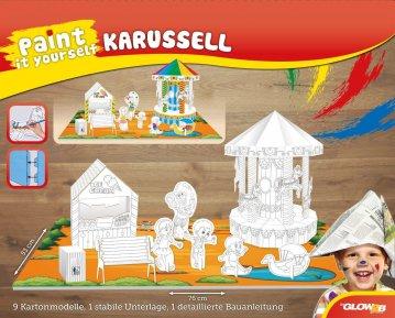 Paint it yourself - Karussell · G2B 54008 ·  Glow2B Spielwaren